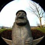 статуя окамэ в Китае